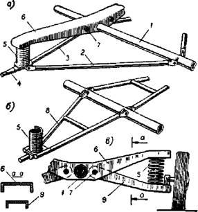 подвеска прицепа лодочного