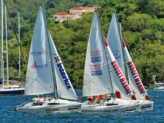 BUDGET MARINE MATCH RACING (ВИДЕО)